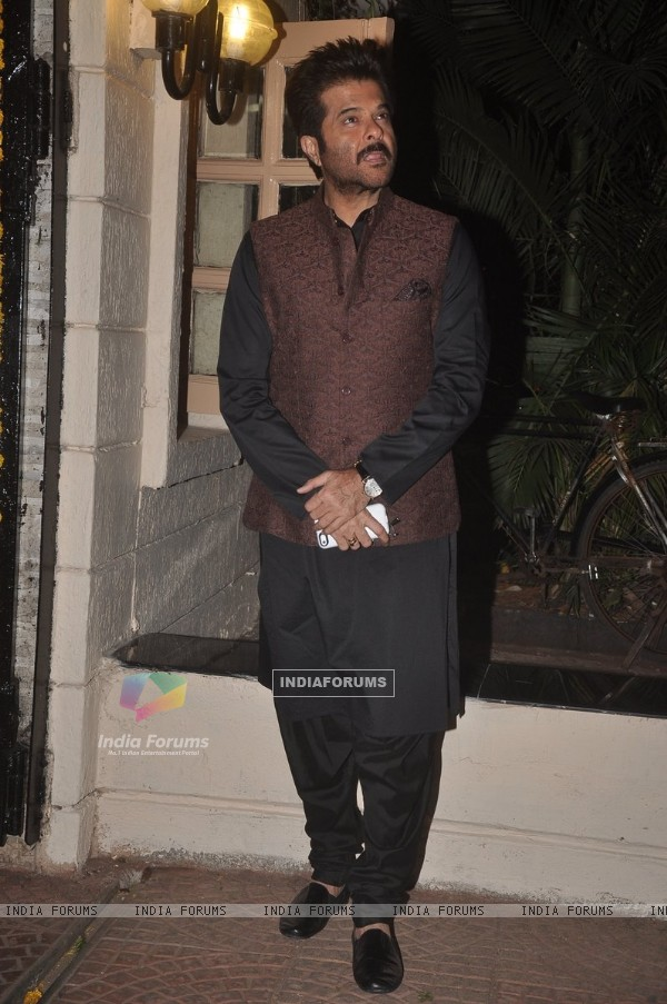 Anil Kapoor was seen at Ekta Kapoor's Diwali Party