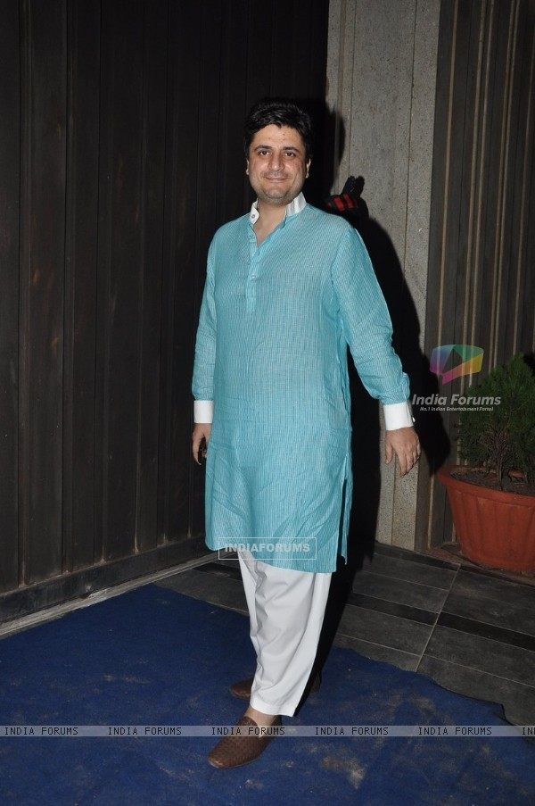 Goldie Behl at a Diwali Party
