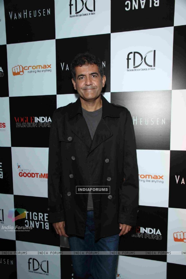 AD Singh, MD Olive at the Vogue India Fashion Fund 2014