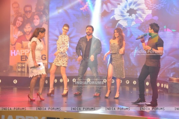 Happy Ending cast performs at the Music Launch