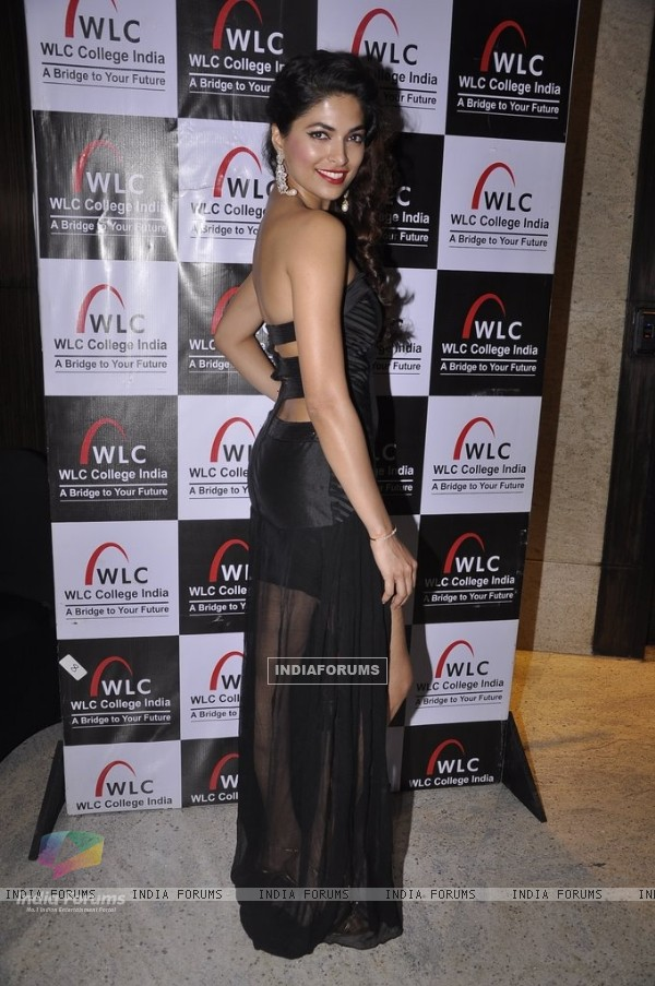 Parvathy Omanakuttan poses for the media at WLC College India Show