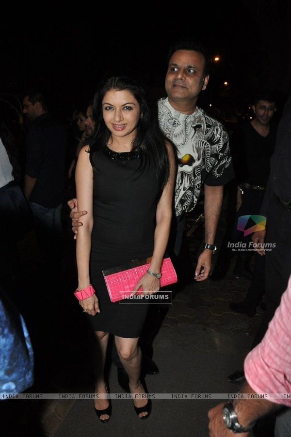 Bhagyashree Patwardhan snapped at Nido Halloween Bash