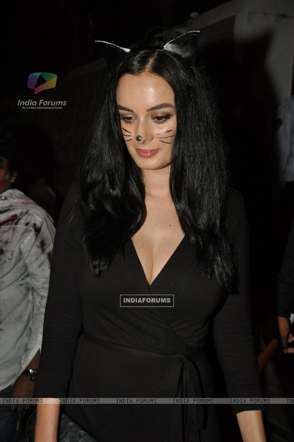 Evelyn Sharma was snapped at Nido Halloween Bash