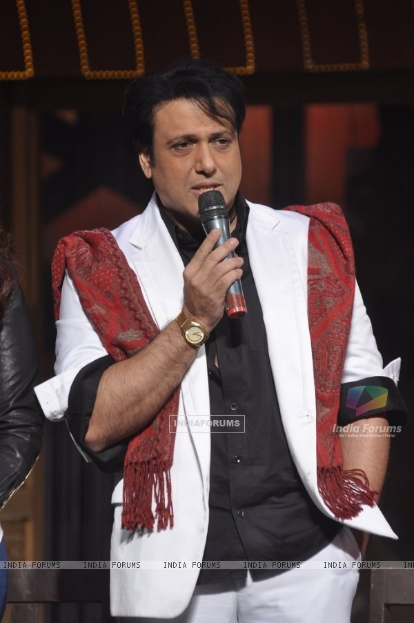 Govinda addressing the audience at the Song Launch of Kill Dil