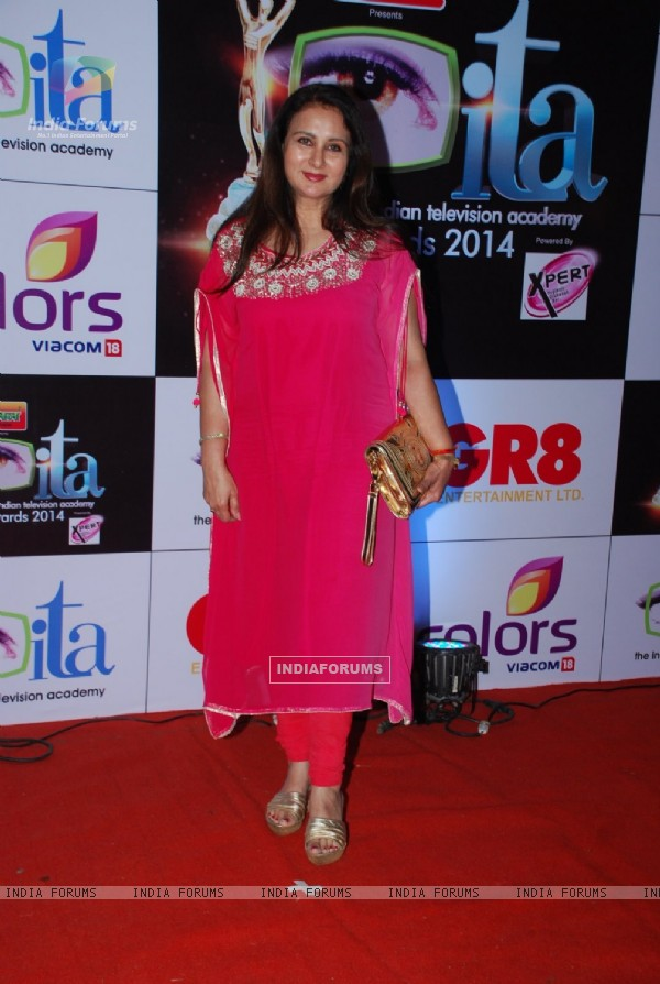 Poonam Dhillon at the ITA Awards 2014