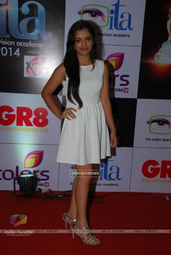 Ahsaas Channa at the ITA Awards 2014