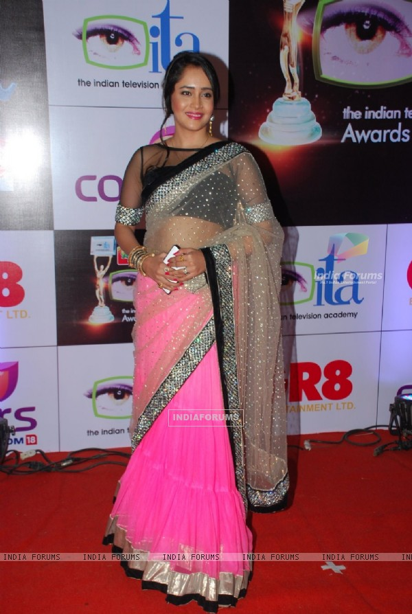 Aasiya Kazi was at the ITA Awards 2014