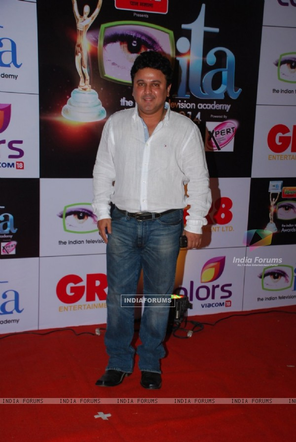 Ali Asgar was seen at the ITA Awards 2014