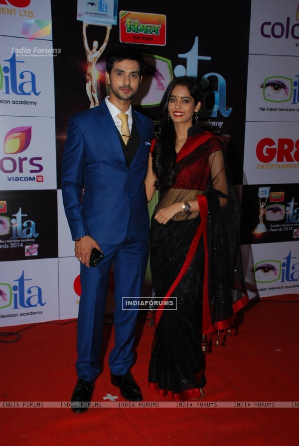 Shakti Arora & Neha Saxena were at the ITA Awards 2014