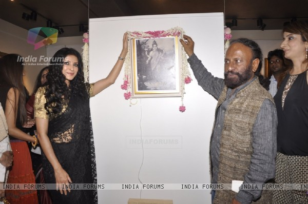 Ketan Mehta and Nandana Sen Inaugurate Raja Ravi Verma's Collection of Life and Work