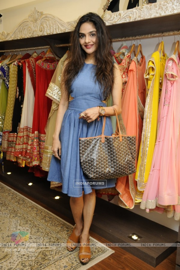Madhoo at Malaga's New Flagship Store