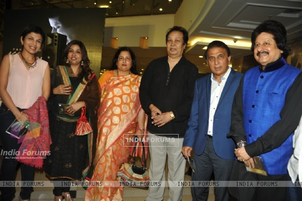 Celebs at the Launch of Album 'Khamoshi Ki Aawaz'