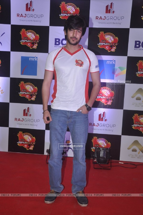 Shivin Narang poses for the media at the Jersey Launch of BCL Team Jaipur Raj Joshiley