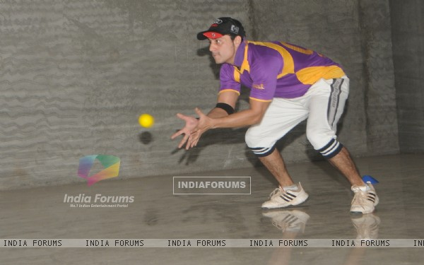 Saillesh Gulabani was seen at BCL Team Rowdy Banglore's Practice Sessions