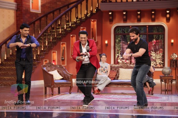 Govinda, Saif Ali Khan and Kapil shake a leg on Comedy Nights With Kapil