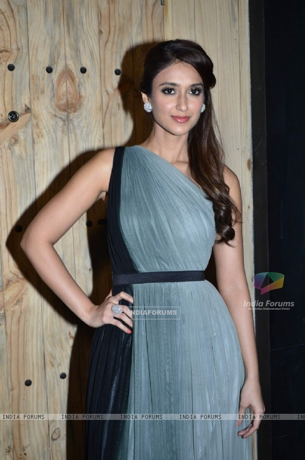 Ileana D'Cruz poses for the media at the Promotions of Happy Ending on Ajeeb Dastaan Hai Ye