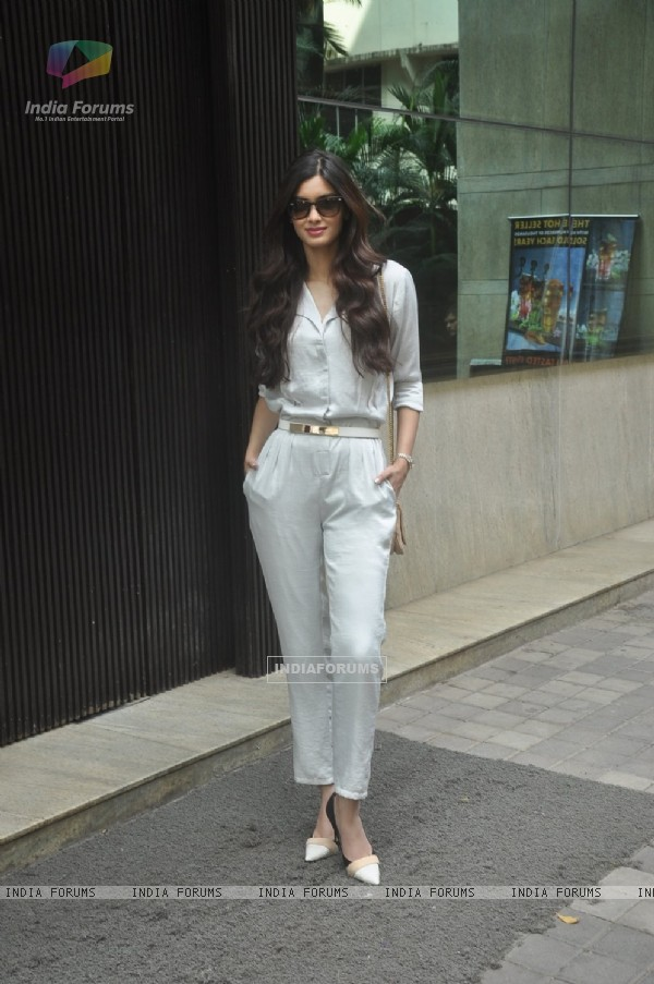 Diana Penty poses for the media at the Launch of Travel Plus Magazine