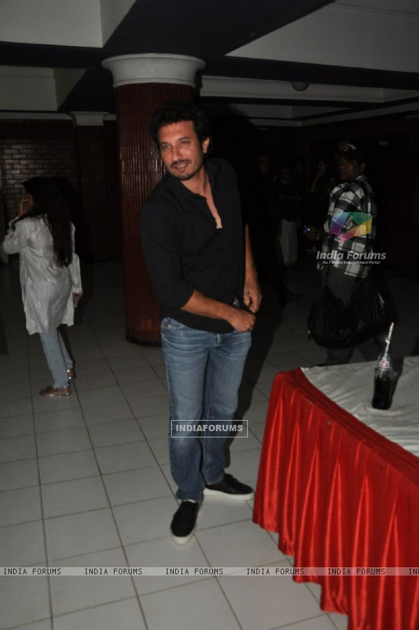 Homi Adajania was at the Special Screening of Kill Dil