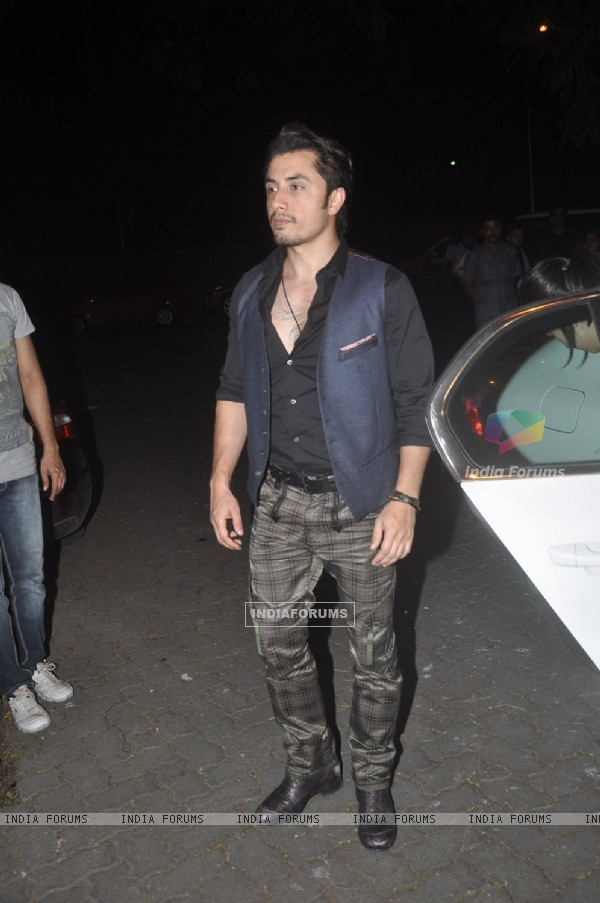 Ali Zafar was snapped at Sonali Bendre's Marriage Anniversary