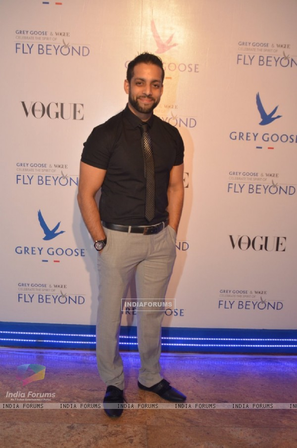 Salil Acharya was seen at the Grey Goose India Fly Beyond Awards