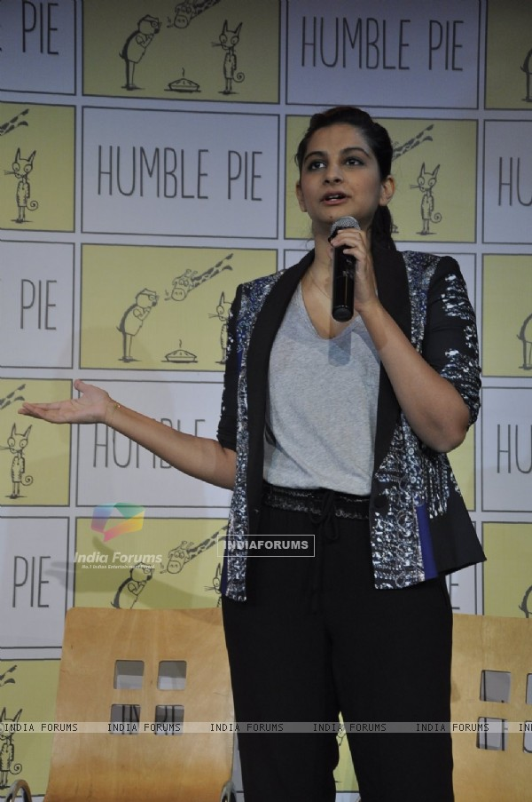 Rhea Kapoor talks about Humble Pie at the Launch