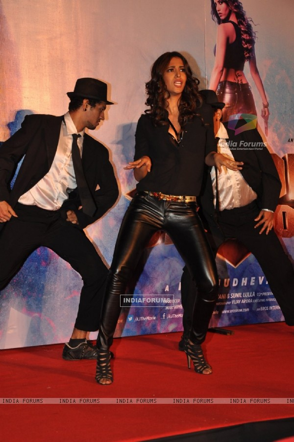 Manasvi Mamgai performs at the Song Launch of Action Jackson