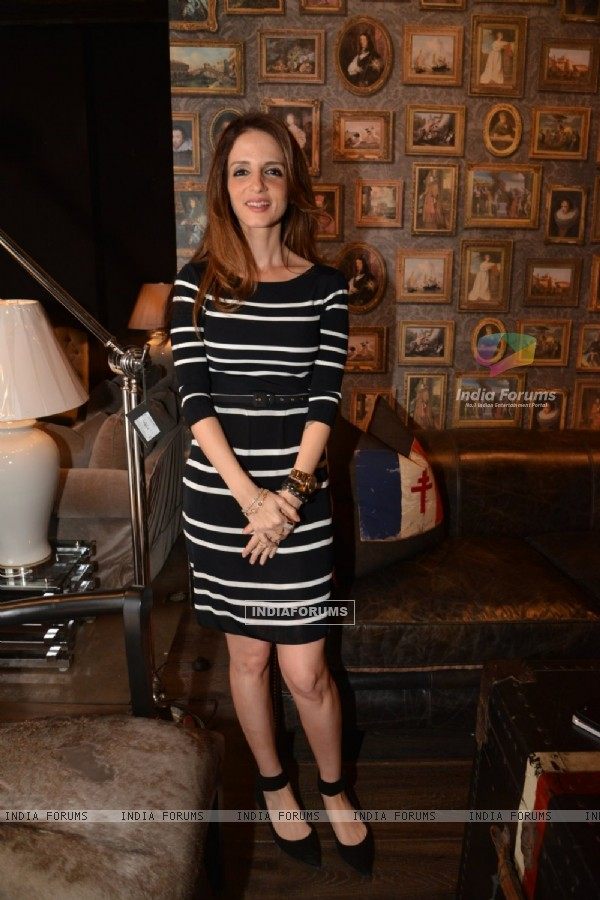 Suzanne Khan was at The Charcoal Project New Collection Launch