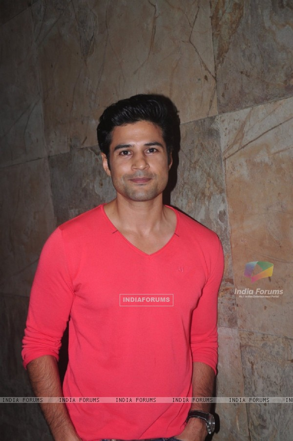 Rajeev Khandelwal at the Special Screening of Zed Plus
