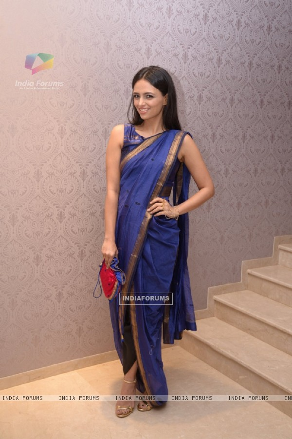 Roshni Chopra at Rahul Mishra's Collection Launch at Aza