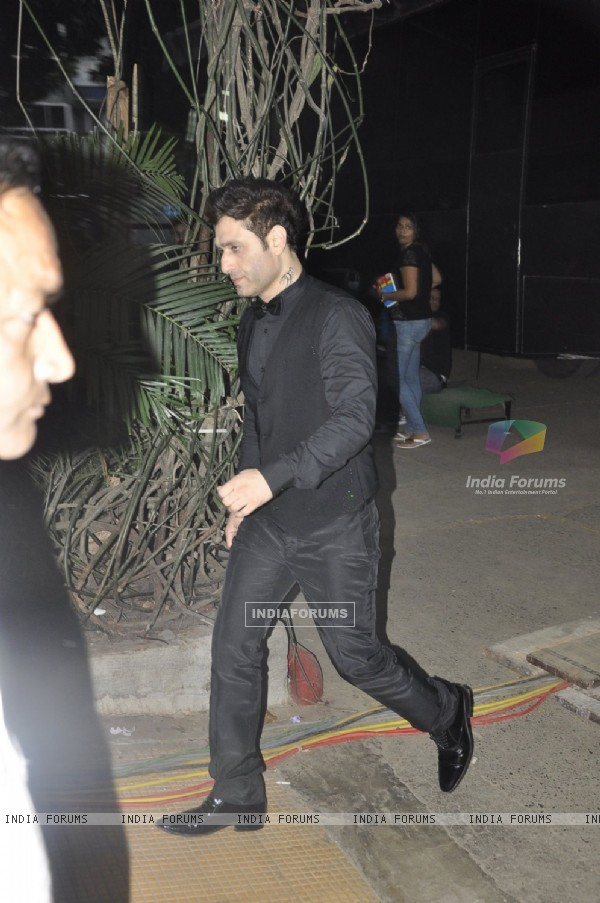 Shiney Ahuja Snapped During Shoot