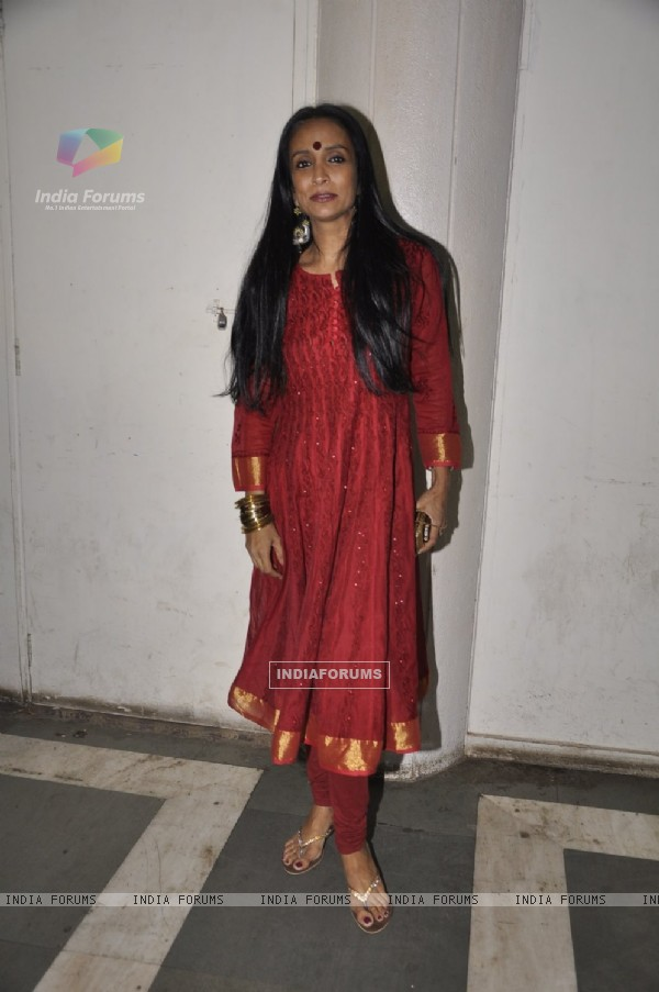 Suchitra Pillai was seen at thePremiere of Vandana Sajnani's Play 'Fourplay'