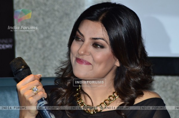 Sushmita Sen was snapped at Wasan Finishing School Launch