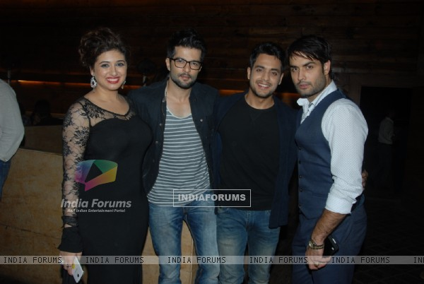 Vahbbiz Dorabjee Dsena, RaQesh Vashisth, Gaurav Bajaj and Vivian Dsena at the Birthday Bash