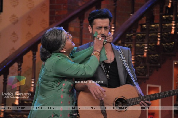 Atif Aslam was on Comedy Nights With Kapil