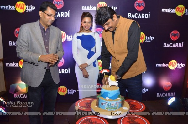 Esha Gupta as Bacardi Launches the Goa Party Hangout