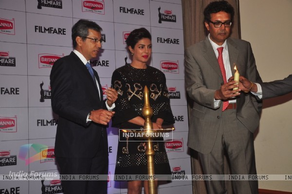 Priyanka Chopra Launches the New Edition of the Filmfare Awards