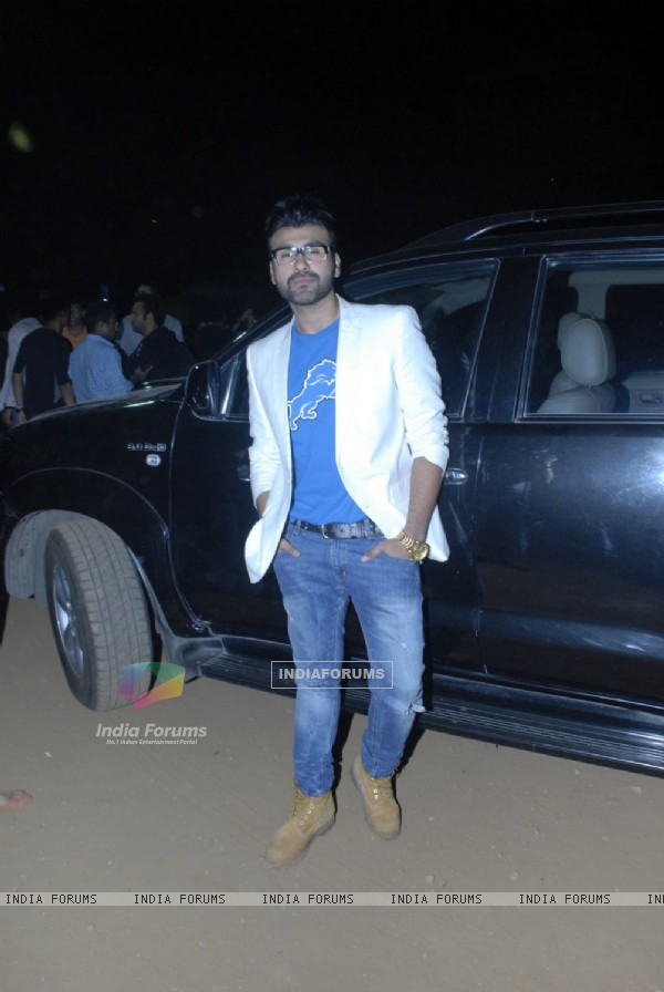 Arya Babbar poses at his Book Launch