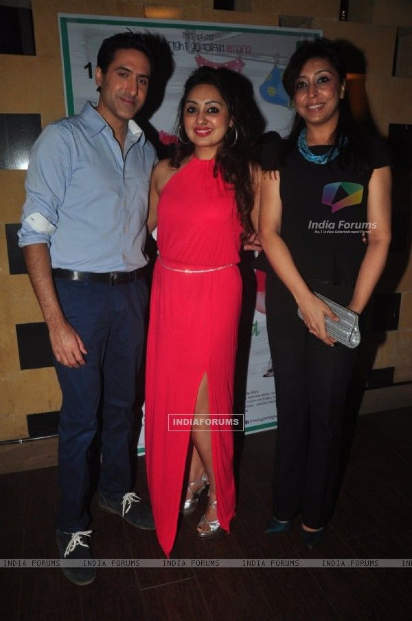 Sumeet Sachdev was at Main Aur Mr. Riight's Bash