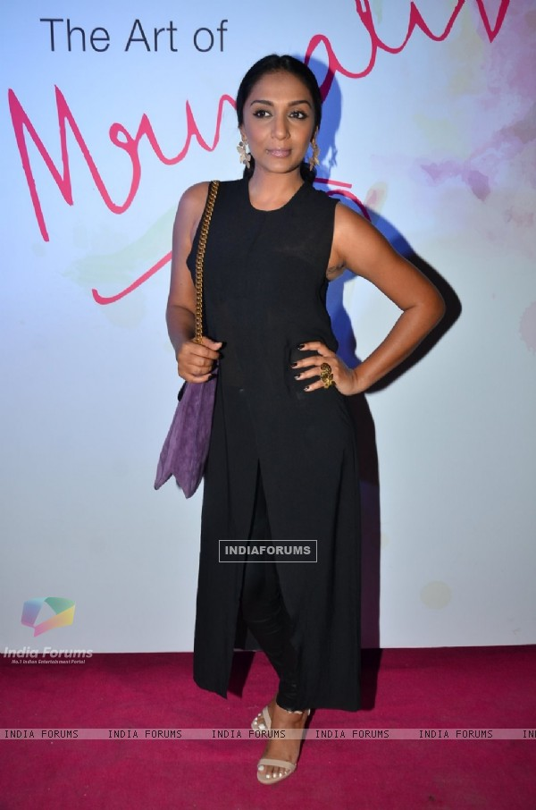 Shveta Salve at Mrinalini Chandra's new ZA cosmetics range