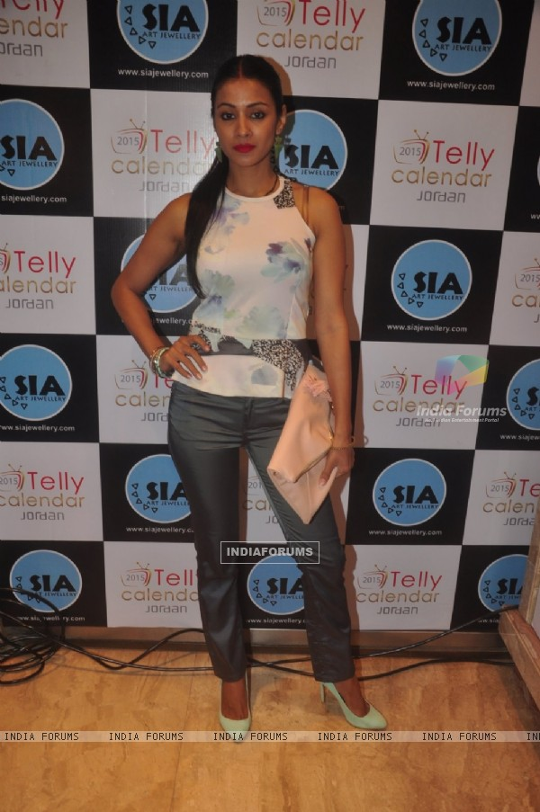 Barkha Bisht at the Launch of Telly Calendar