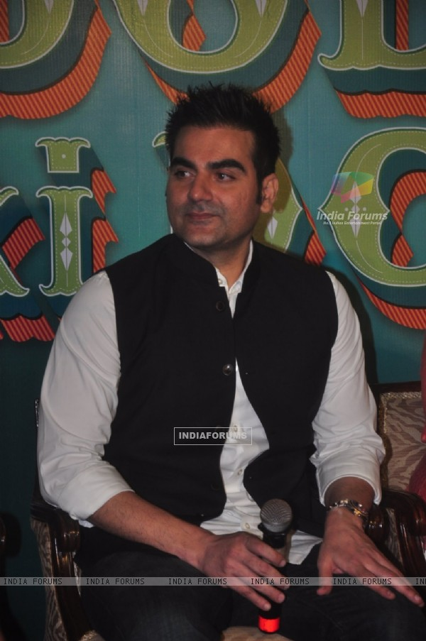 Arbaaz Khan at the Trailer Launch of Dolly ki Doli