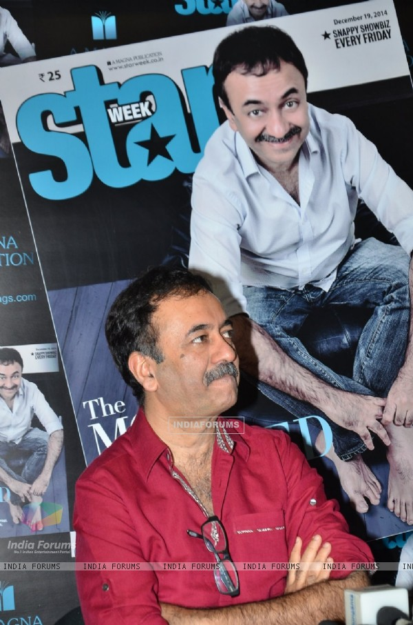 Rajkumar Hirani was snapped at the Launch of the New Edition of Star Magazine