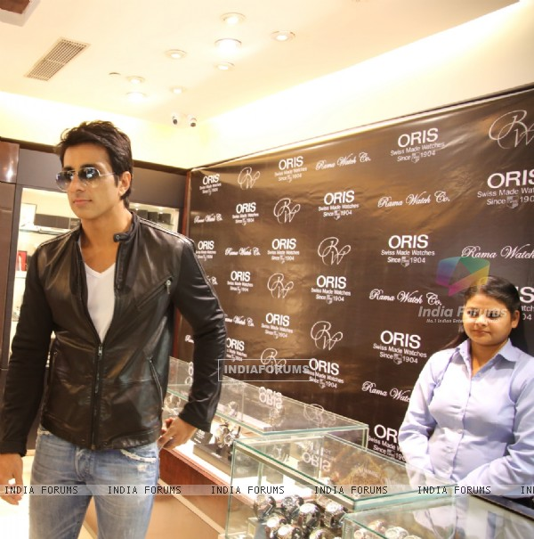 Sonu Sood was snapped at the Launch of ORIS Pro Pilot Altimeter