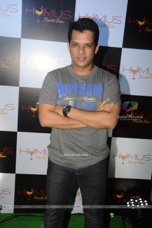 Yash Patnaik poses for the media at A Soiree Evening at HYMUS