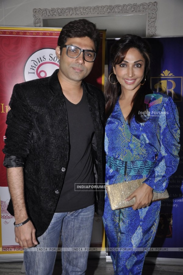 Mazher Sayed & Mouli Ganguly were at the Launch of Munisha Khatwani's Tarot Predictions 2015 Book