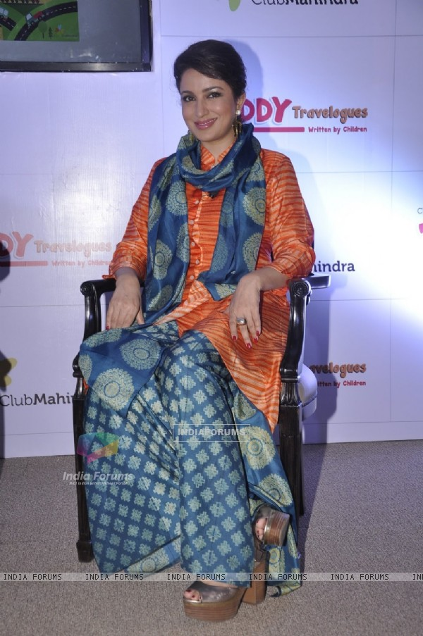 Tisca Chopra was snapped at Club Mahindra Event