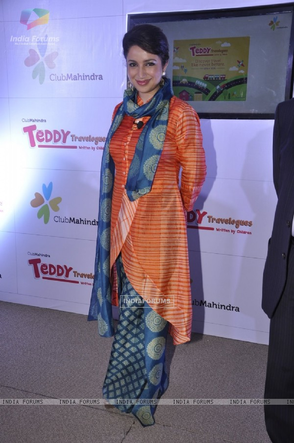 Tisca Chopra poses for the media at Club Mahindra Event