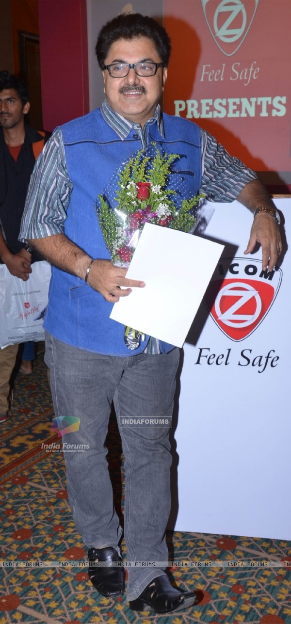 Ashok Pandit poses for the media at the Launch of Ziman by Zicom Electronic Security Systems Ltd