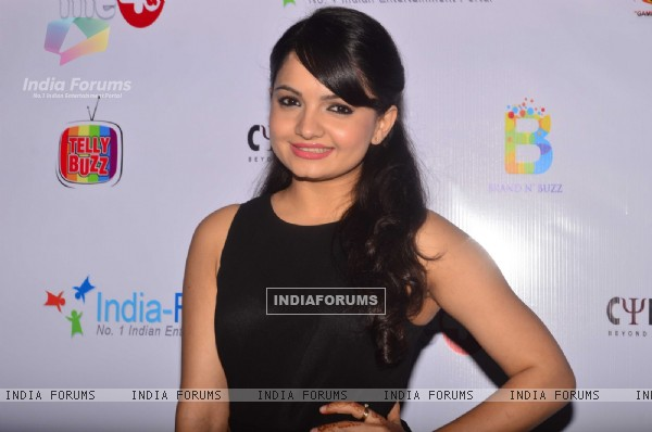 Giaa Manek poses for the camera at India-Forums 11th Anniversary Bash