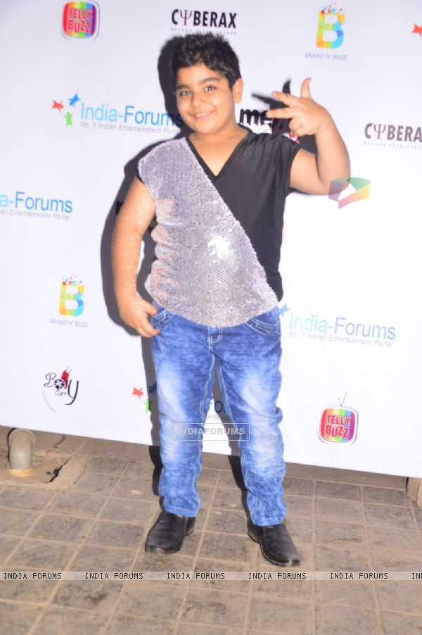 Sadhil Kapoor poses for the camera at India-Forums 11th Anniversary Bash